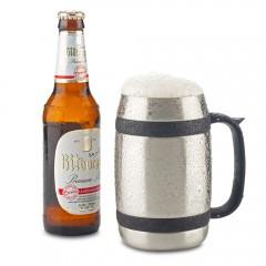 Mug Metalico Beer 550ml OFERTA   MU-234