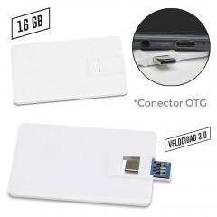 Memoria USB Credit Card 2 en 1 PRECIO NETO OFERTA | US-55