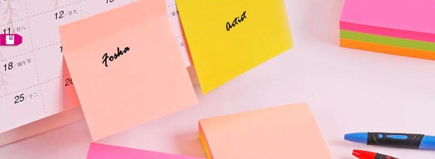 Memos, Adhesivos y Stickers
