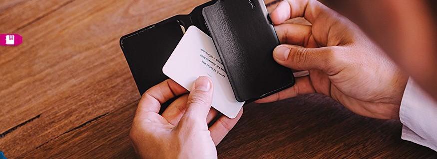 Tarjeteros y Porta tarjetas